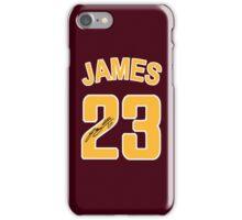 Lebron James 23 NBA iPhone Case/Skin