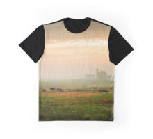 Pennsylvania Autumn Countryside Graphic T-Shirt