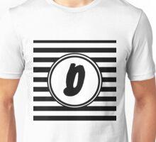 D Striped Monogram Unisex T-Shirt