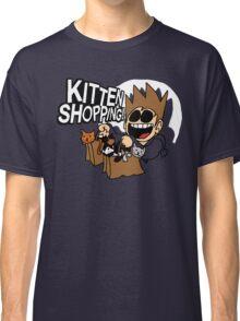EDDSWORLD KITTEN SHOPPING Classic T-Shirt