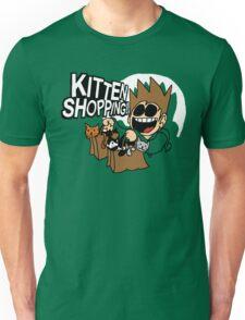 EDDSWORLD KITTEN SHOPPING Unisex T-Shirt