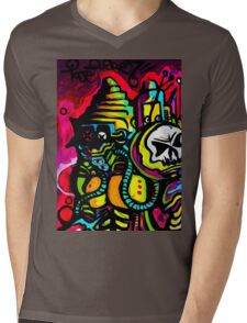 Android 7  / mecha robot Mens V-Neck T-Shirt