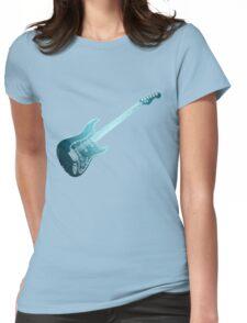 E-Gitarre Womens Fitted T-Shirt