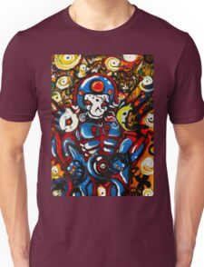 Captain Skull Original Art by me Unisex T-Shirt