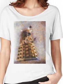 Dalek Flies! Women's Relaxed Fit T-Shirt