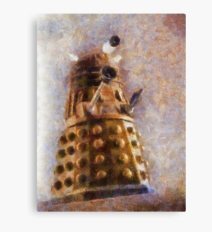 Dalek Flies! Canvas Print