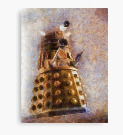Dalek Flies! Canvas Print