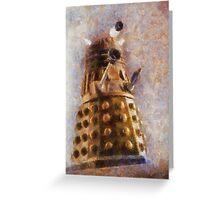 Dalek Flies! Greeting Card