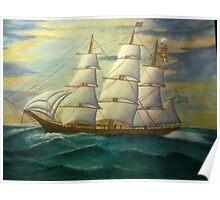 Sailing Smooth Poster