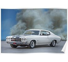 1970 Chevrolet Chevell SS396 Poster