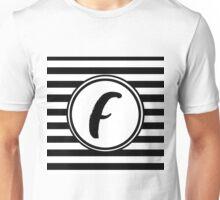 F Striped Monogram Unisex T-Shirt