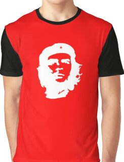 Che, Guevara, Rebel, Cuba, Peoples Revolution, Freedom, in white Graphic T-Shirt
