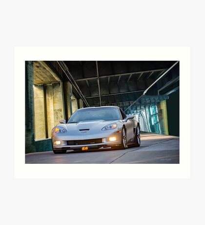 2005 Chevrolet Corvette Coupe Art Print