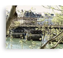Seine Rue Royale  Canvas Print