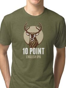 10 Point English IPA Tri-blend T-Shirt