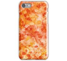 Peach Abstract iPhone Case/Skin