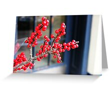 Red vs. Blue Greeting Card