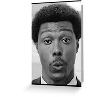 Samurai Cop - Frank Washington Greeting Card