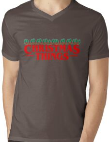 Christmas Things - Perfect for that Stranger fan in your life! Mens V-Neck T-Shirt