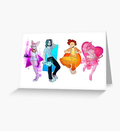 player select Greeting Card