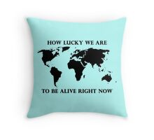 Hamilton Musical, Earth Throw Pillow