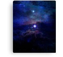 Science Fiction All Cosmos Space Canvas Print