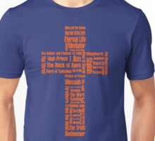 Names of Jesus Cross Unisex T-Shirt