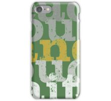 reach out and touch faith  iPhone Case/Skin