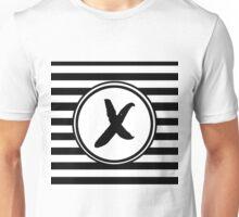 X Striped Monogram Unisex T-Shirt