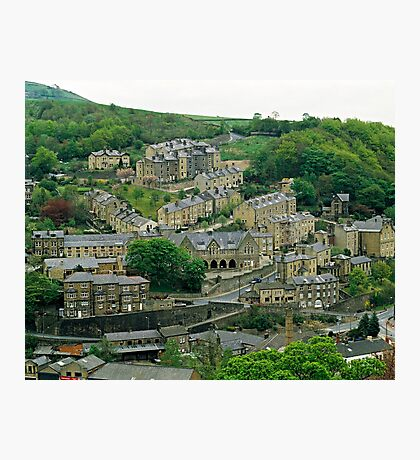 Hebden Bridge, W. Yorkshire, UK, 1980s Photographic Print