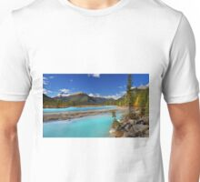 Mount Saskatchewan Unisex T-Shirt