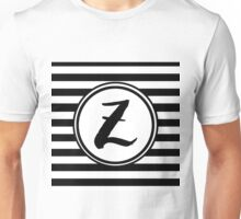 Z Striped Monogram Unisex T-Shirt