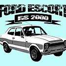 Ford Escort RS 2OOO by ImageMonkey