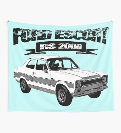 Ford Escort RS 2OOO Wall Tapestry