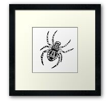 THE SPIDER Framed Print
