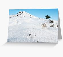 Winter Walk up Mither Tap O'Bennachie 2 Greeting Card