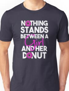 A Girl and her Donut - Donut Lover Unisex T-Shirt