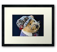 Professor Bear Framed Print