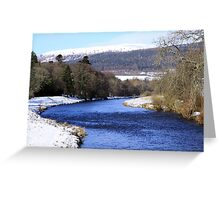 Winter in Monymusk Greeting Card