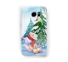 Winter Bear Samsung Galaxy Case/Skin