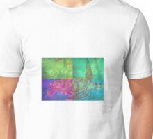 Colorful Wild Beautiful Sea Turtle Painting  Unisex T-Shirt
