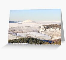 Winter views towards Tap O'Noth 2 Greeting Card