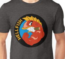 Pez Volador Hellfish Simpson Unisex T-Shirt