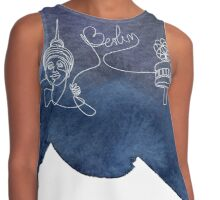 Berlin Single Line Contrast Tank