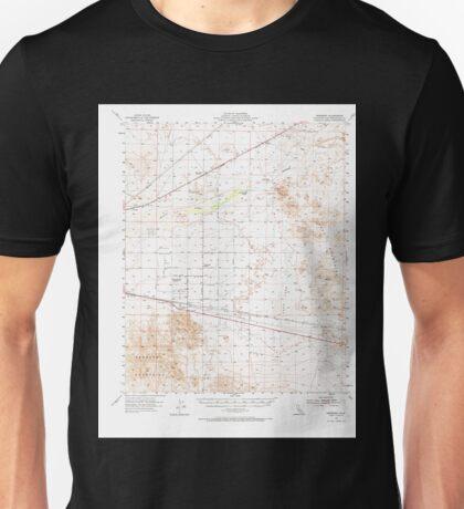 USGS TOPO Map California CA Newberry 298365 1955 62500 geo Unisex T-Shirt