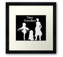 Time Travellers (White Edition) Framed Print