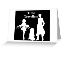 Time Travellers (White Edition) Greeting Card