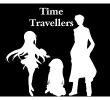 Time Travellers (White Edition) Photographic Print