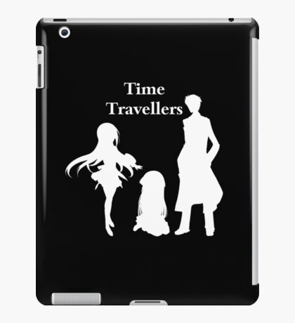 Time Travellers (White Edition) iPad Case/Skin