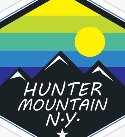SKIING HUNTER MOUNTAIN NEW YORK SKI SNOWBOARD SKIER Sticker